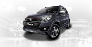 Harga Toyota Rush di Pontianak Warna Grey Metallic