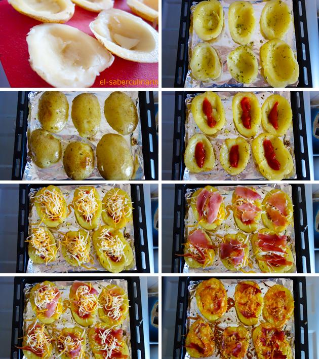Cómo hacer una mini pizza de patata paso a paso