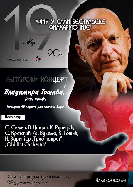 Koncert Vladimira Tošića u Beogradskoj filharmoniji