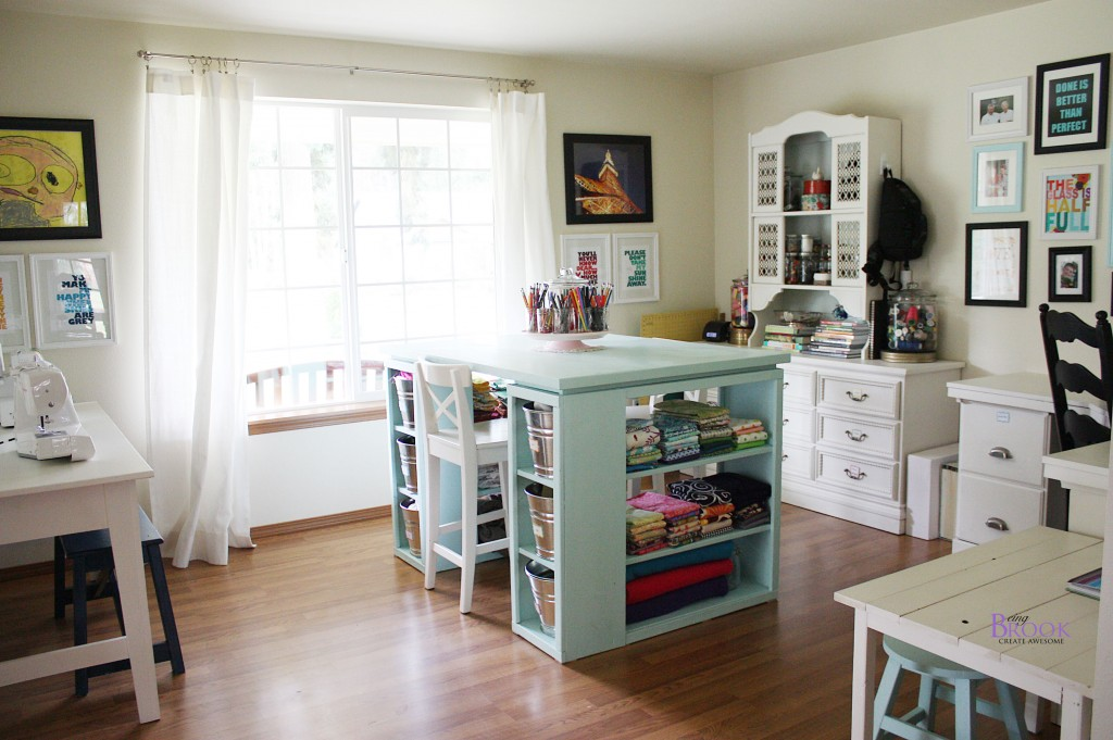 Sewing Room Designs: Sewing & Craft Room Tour {Furniture}