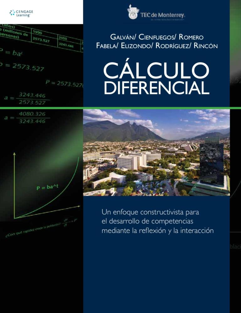 Cálculo diferencial, 2da Edición – Delia A. Galván Sánchez