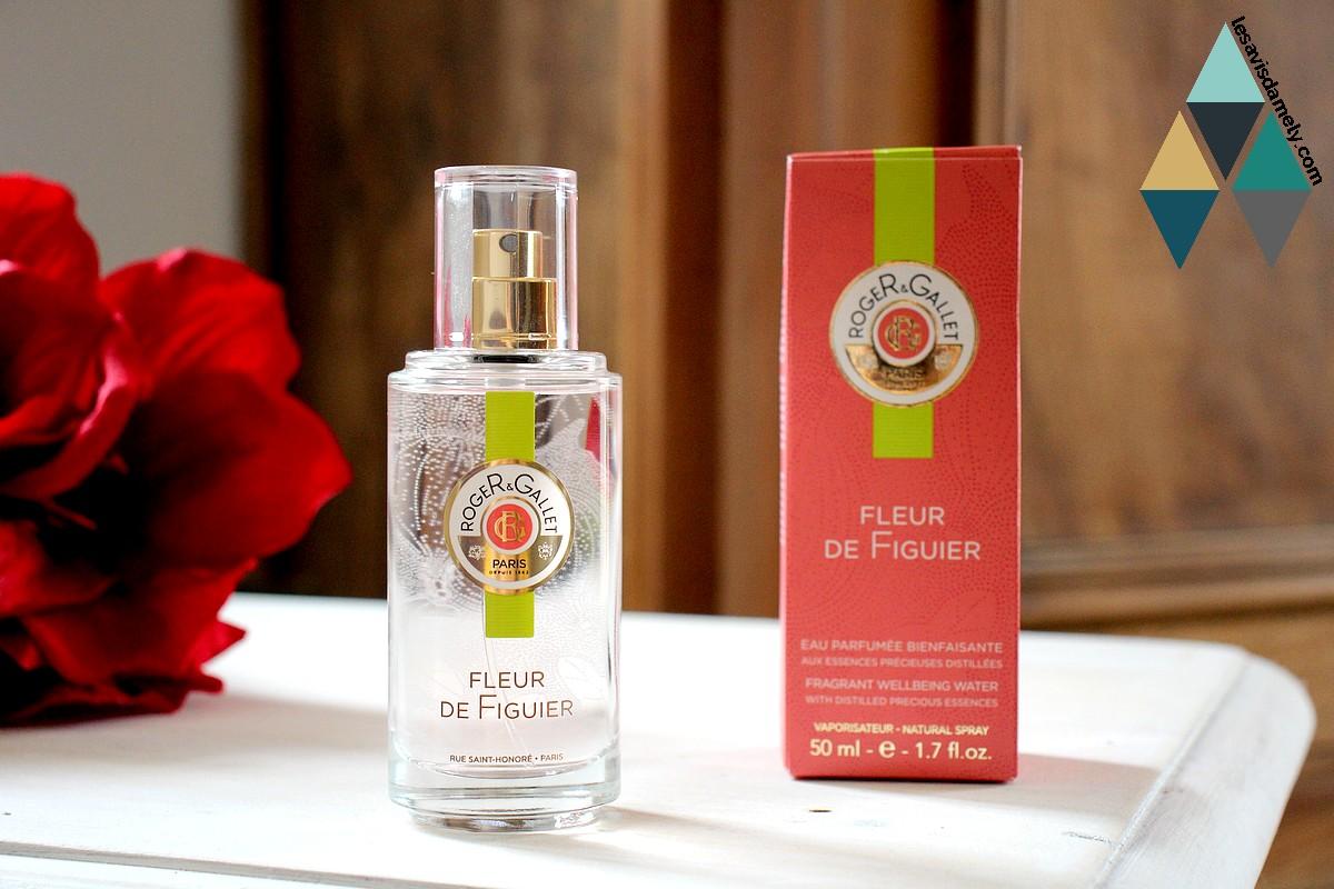 test beauté eau parfumée légère rituel fleur de figuier roger & gallet