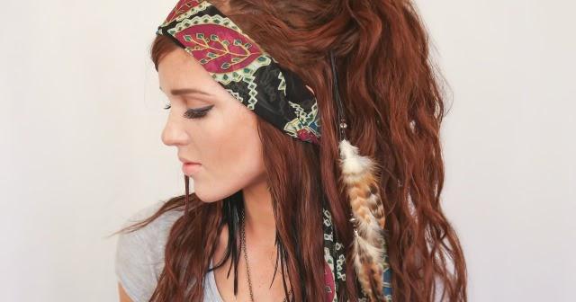 Bohemian Style Hair: The Freckled Fox: Festival Hair Week: Bohemian Gypsy Style