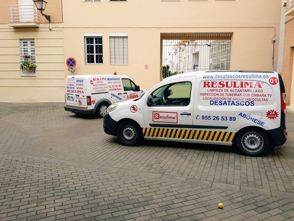 Desatascos Economicos Con Camiones Cuba En Sevilla