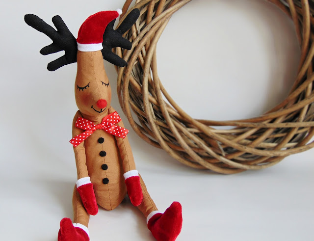 how to sew a reindeer