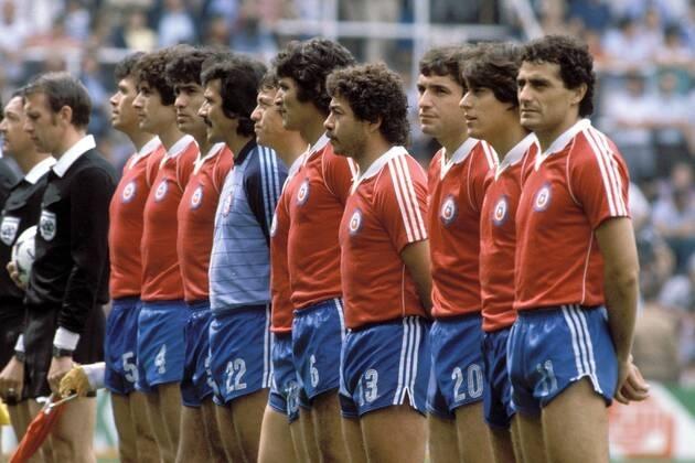 Formación de Chile ante Argelia, Copa del Mundo España 1982, 24 de junio
