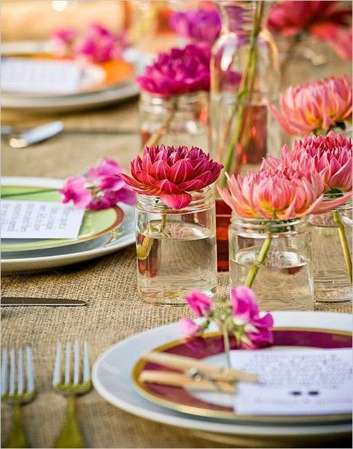 DIY Wedding Centerpiece Ideas for the Budget-Minded Bride