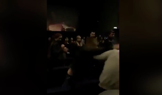 Fist fight breaks out in cinema in row over 'talking too loudly' during screening of horror film