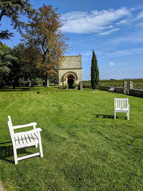 Medoc region: the grounds of Chateau Lafon-Rochet
