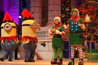 Ada Minions di Universal Christmas, Universal Studios Singapura