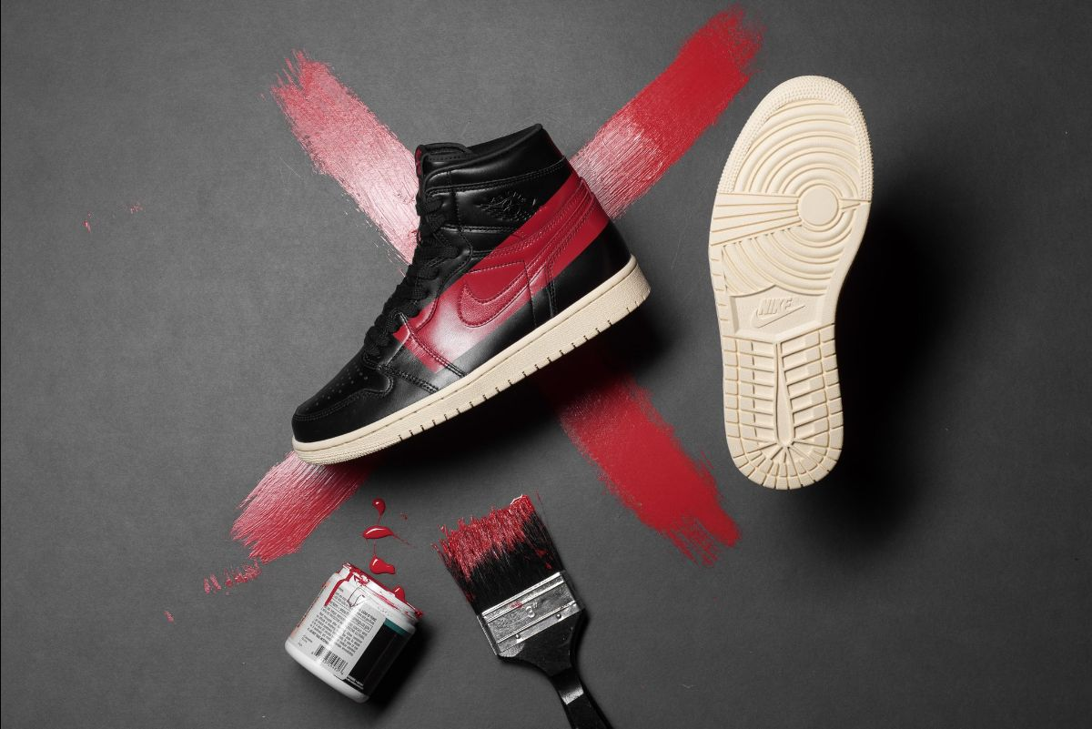 release date 32dec 48818 You can purchase these kix online or in-store at Sneaker Politics and other Air  Jordan retailers. Air Jordan 1  Couture  Color  Black Gym Red-Muslin