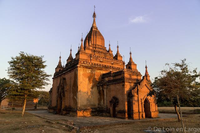 Monastère Shew Man Yin Taw- Bagan - Myanmar - Birmanie