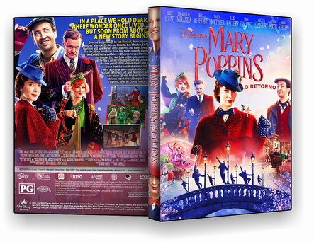 CAPA DVD – O Retorno De Mary Poppins – ISO – CINEMA