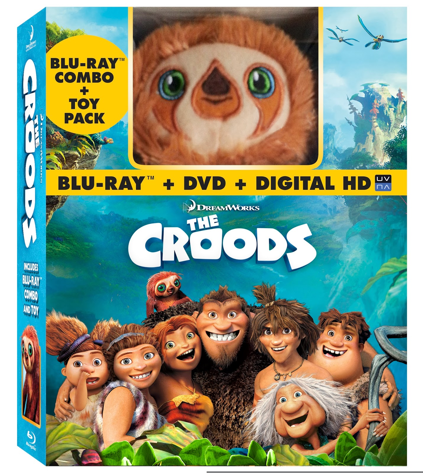 The Croods 2 Movie: MOMMY BLOG EXPERT: Giveaway The Croods Bluray DVD Belt
