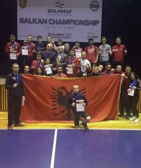 Albania ranked second in Mixed Martian Arts Championship in Bulgaria