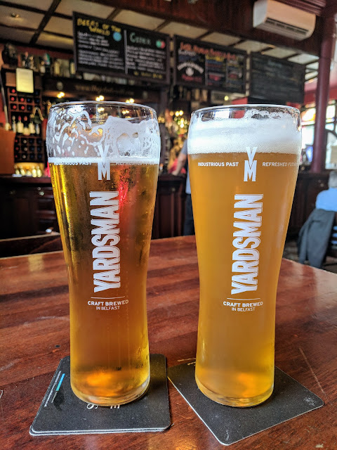 Things to do in Belfast: Drink Yardsman craft beer at John Hewitt Bar