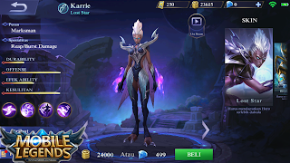 Guide Hero Karrie Mobile Legends