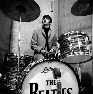 "Ringo recording ""Beatles For Sale"" image from Bobby Owsinski's Big Picture production blog"