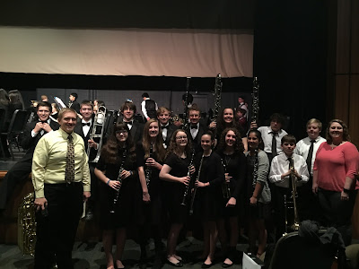 16 Montgomery Catholic Band Members Chosen for All State and All District Honor Band 1