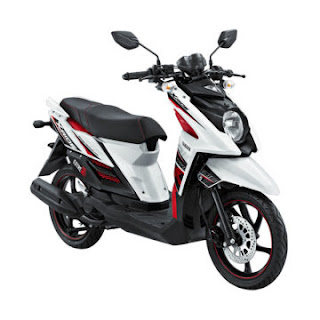 Dealer Motor Yamaha X-Ride Murah di Solo Putih