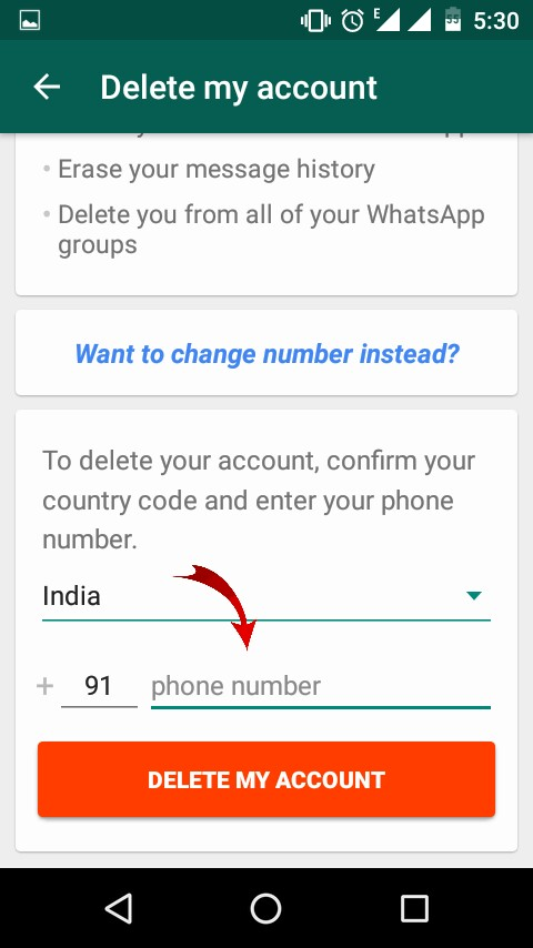 Whatsapp-Account-Ko -Delete-Kaise-Kare