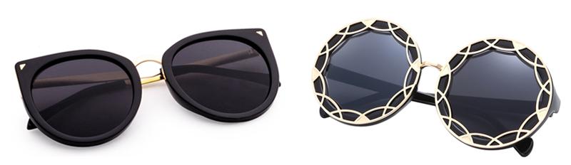 Óculos Flat Sunnies Pretos