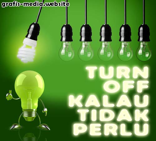 8 Contoh Poster Hemat Energi Untuk Inspirasi Grafis Media