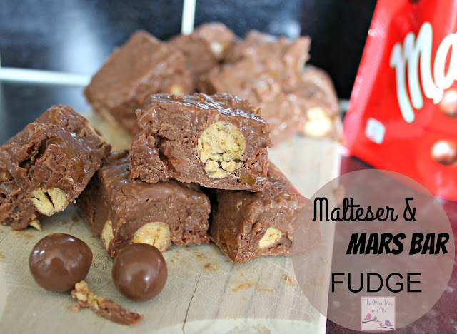 Malteser and Mars Bar Fudge Recipe