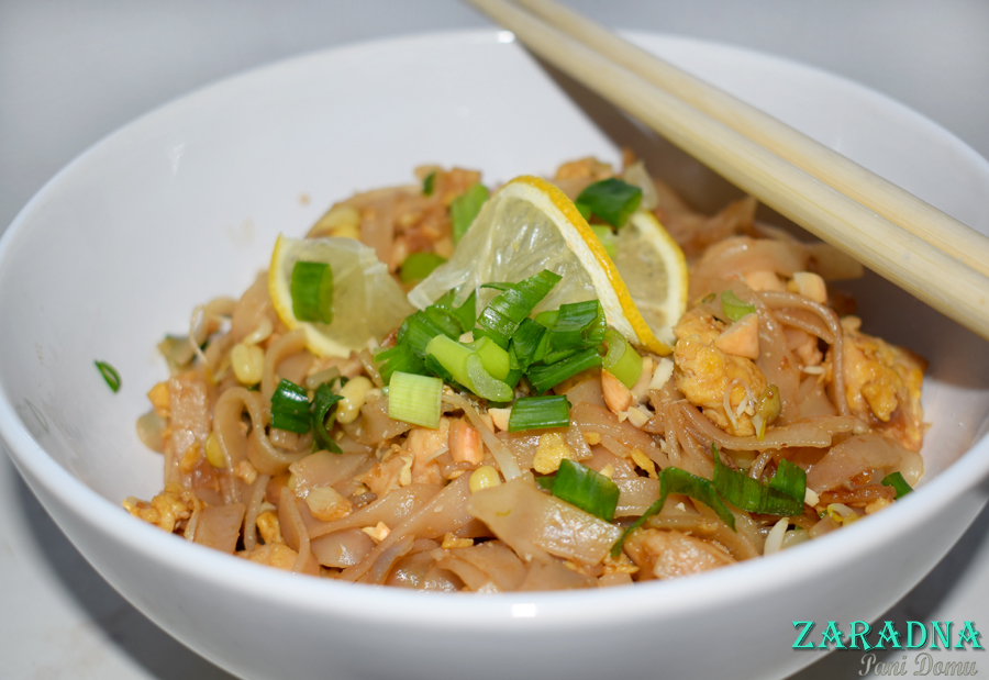 Zaradna Pani Domu Pad Thai Tajska Kuchnia Przepis