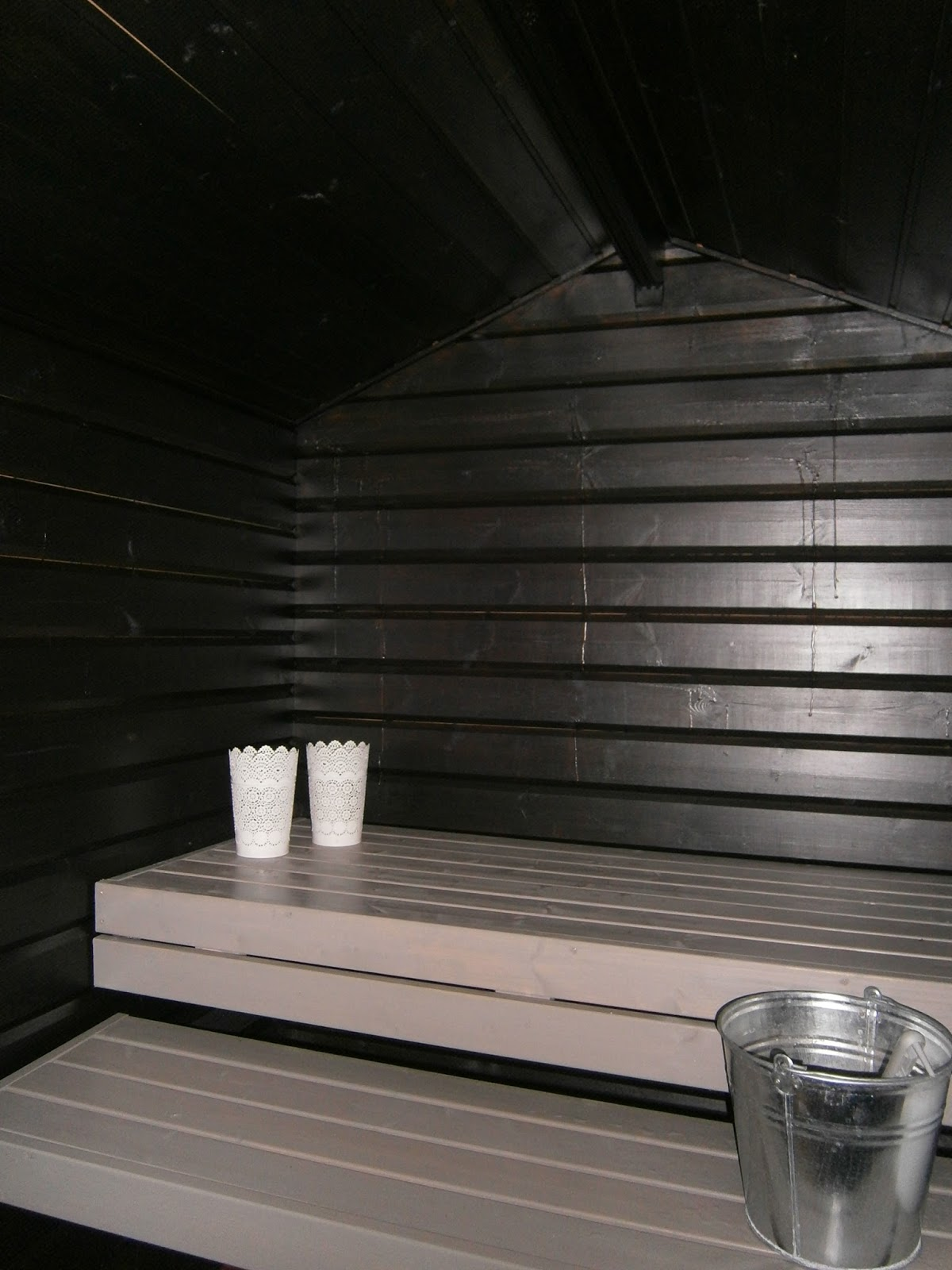saunan pesuvesien käsittely