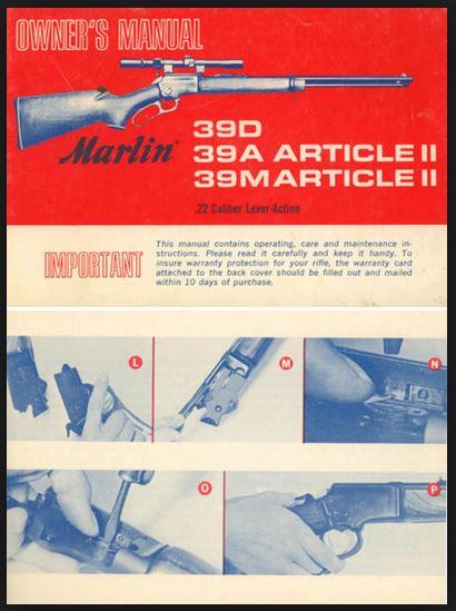 marlin owners manual