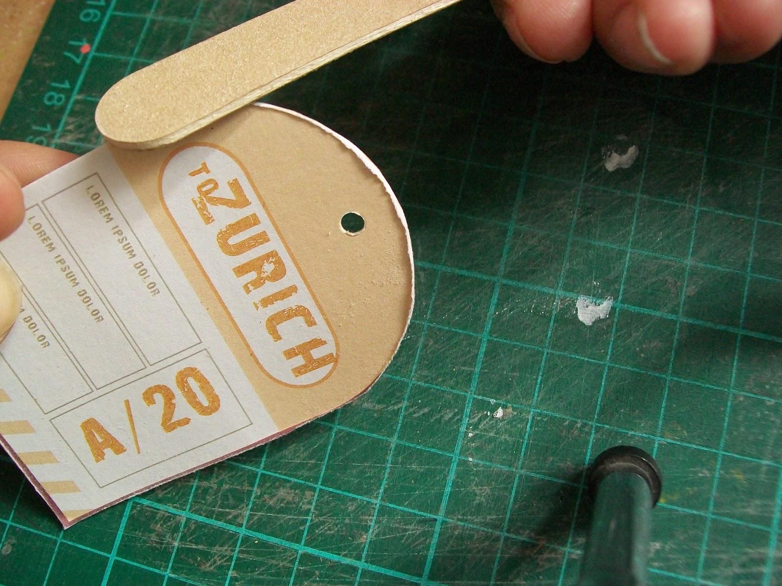 Atrévete a crear...: Bordes Gastados sin Rasgador de papel
