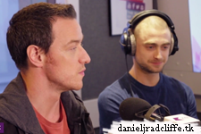 Daniel Radcliffe and James McAvoy on KISS Breakfast
