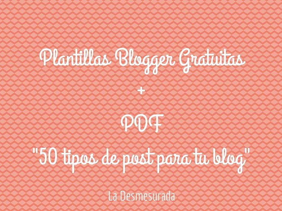 Plantilla Blogger Gratuita