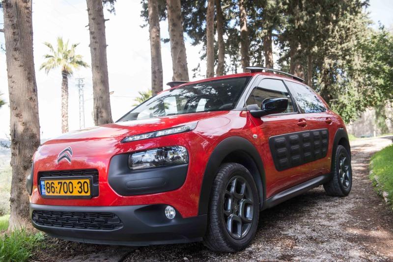 סיטרואן קקטוס – לנהוג בסטייל ברכב אופנתי