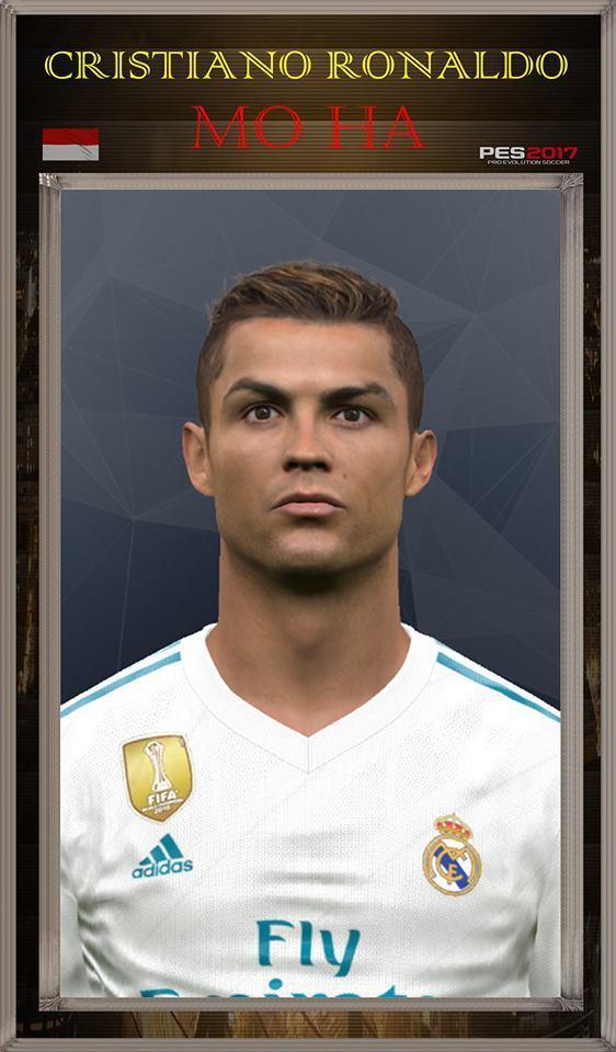 New Face Cristiano Ronaldo PES 2017