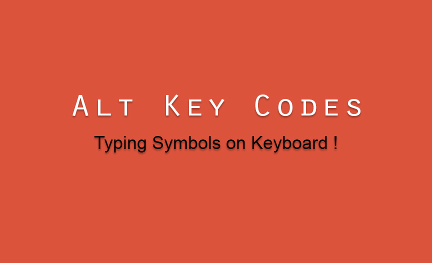 How To Type Symbols On Keyboard Iwriteless Tech Blog