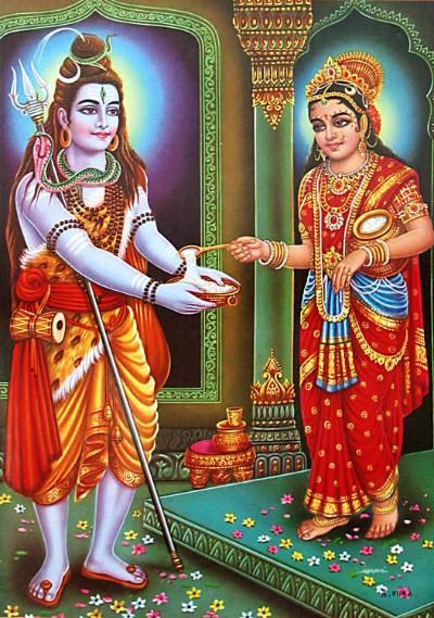 Hindu Goddess annapurana devimata pic