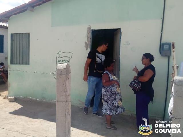 Em Delmiro Gouveia, Secretário de Assistência Social realiza visita a famílias em situação de vulnerabilidade social