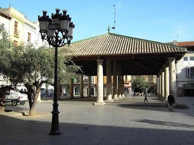 La Porxada, uno de los símbolos de Granollers