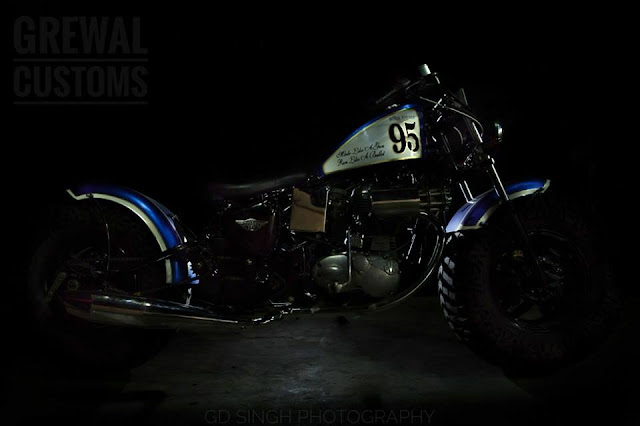 Grewal Customs the Blue Beast
