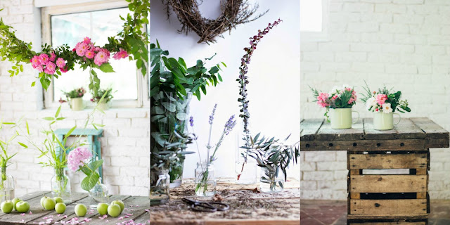 Decorar con flores diy