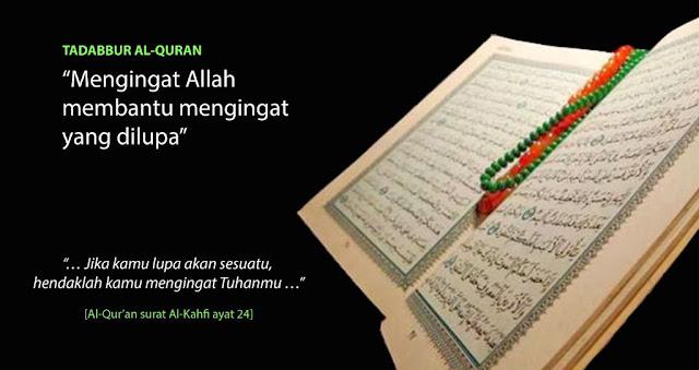 cara mudah menghapal nama-nama surat dalam Al Qur'an