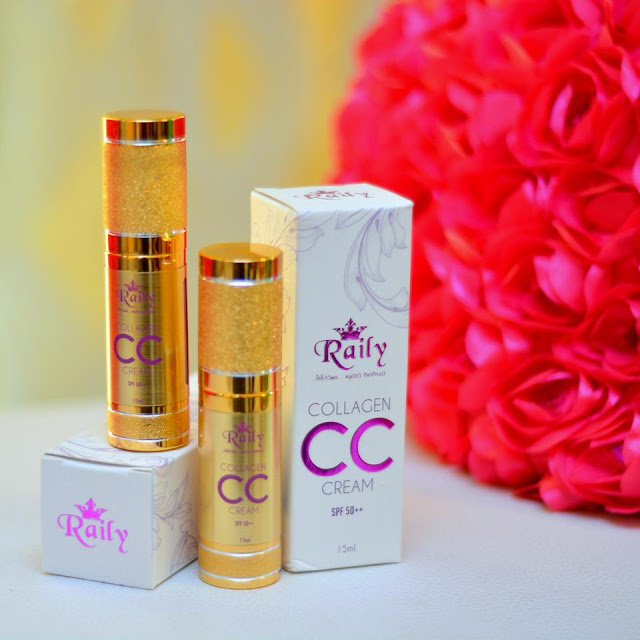 raily collagen cc cream, review raily collagen cc cream, cc cream terbaik, cc cream yang tak cair