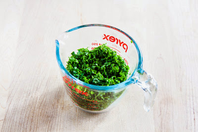 parsley for Garbanzo and Tuna Salad with Parsley and Red Pepper found on KalynsKitchen.com