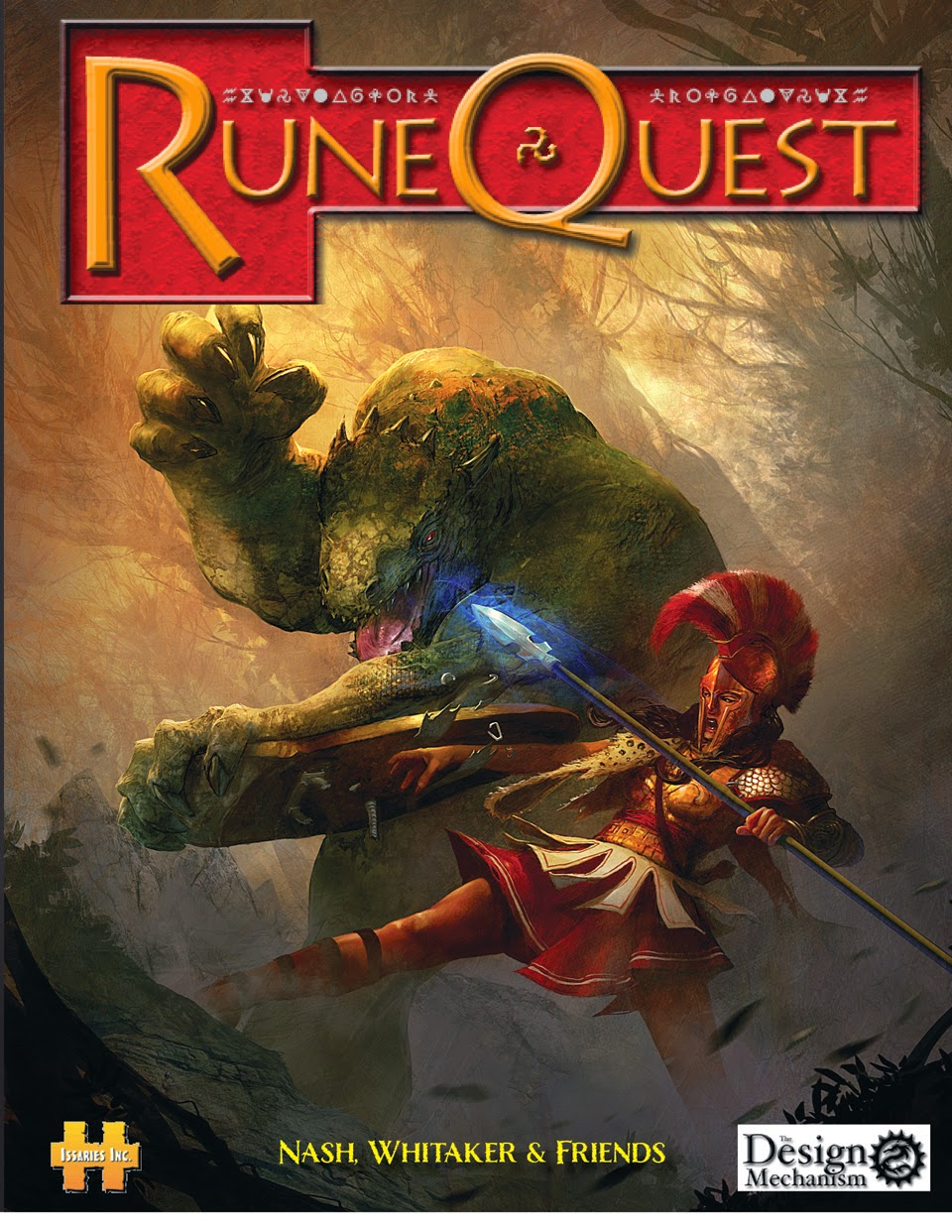 Channel Zero: Converting D&D to Runequest