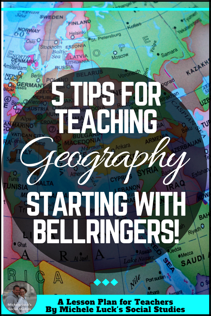 Quick Tips for Teaching Geography: Quick Start Ideas | A