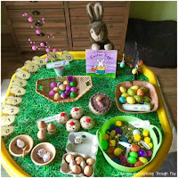 Easter Themed Tuff Tray