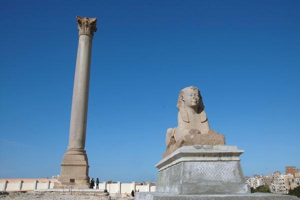 Monumen Alexandria di Mesir