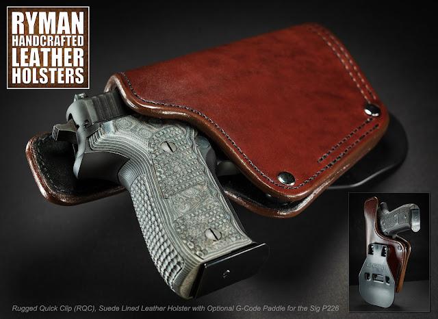 RYMAN HOLSTERS RQC FOR SIG P226
